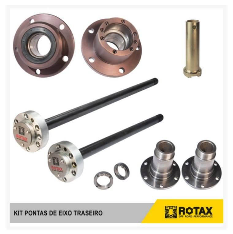 Kit Ponta de Eixo RURAL rolamento de Ducato (TRASEIRO COMPLETO) 19 ou 30 estrias - D driver equipamentos off road Joinville sc