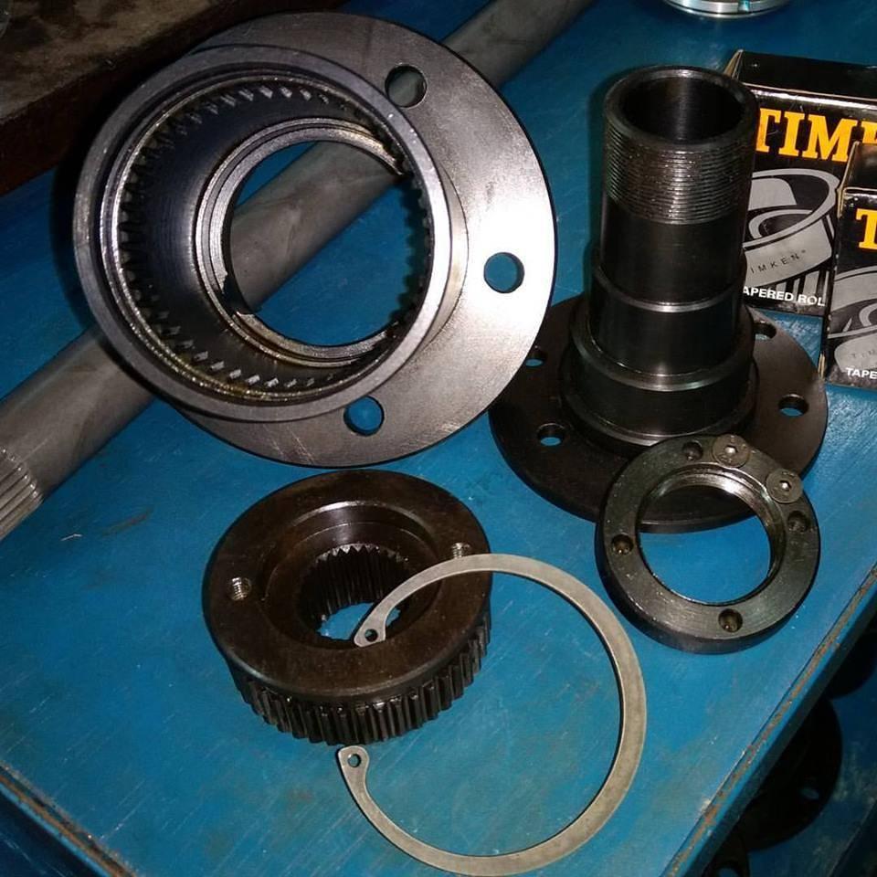 Kit forjado traseiro Troller RF furação original - D driver equipamentos off road Joinville sc