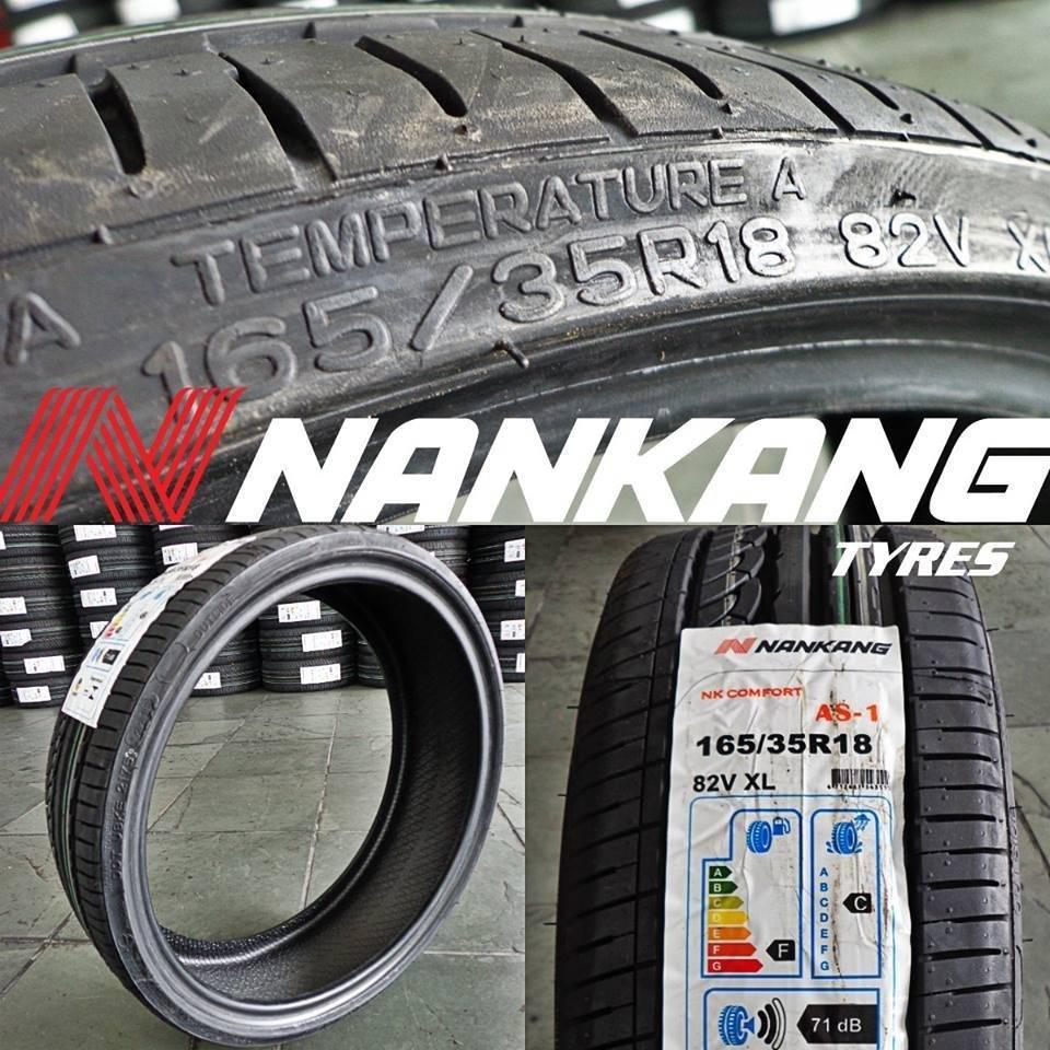 PNEU 165/35 R18 165/35/18 Nankang top compra - MOTOR PNEUS