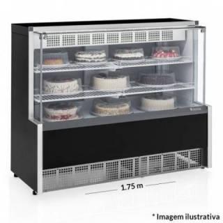 Vitrine Refrigerada Confeitaria - Dupla a��o Gelopar GPEA-175R   Refrimur