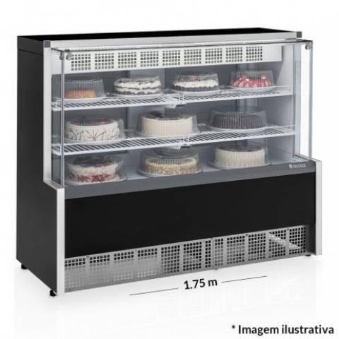 Vitrine Refrigerada Confeitaria - Dupla a��o Gelopar GPEA-175R