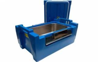 Caixa t�rmica Hot Box 30L Azul