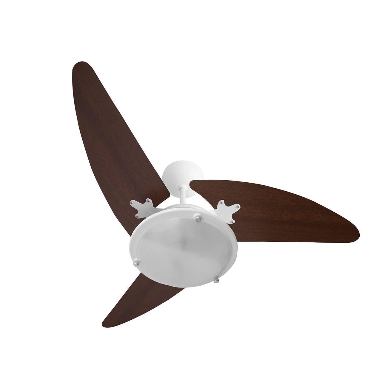 Ventilador De Teto Wind Light Branco 1 Lâmp. Roma 3 Pás - LCGELETRO