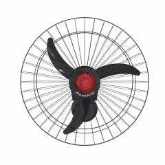 Ventilador de Parede Oscilante 60cm Preto Ponente 200w Bivolt