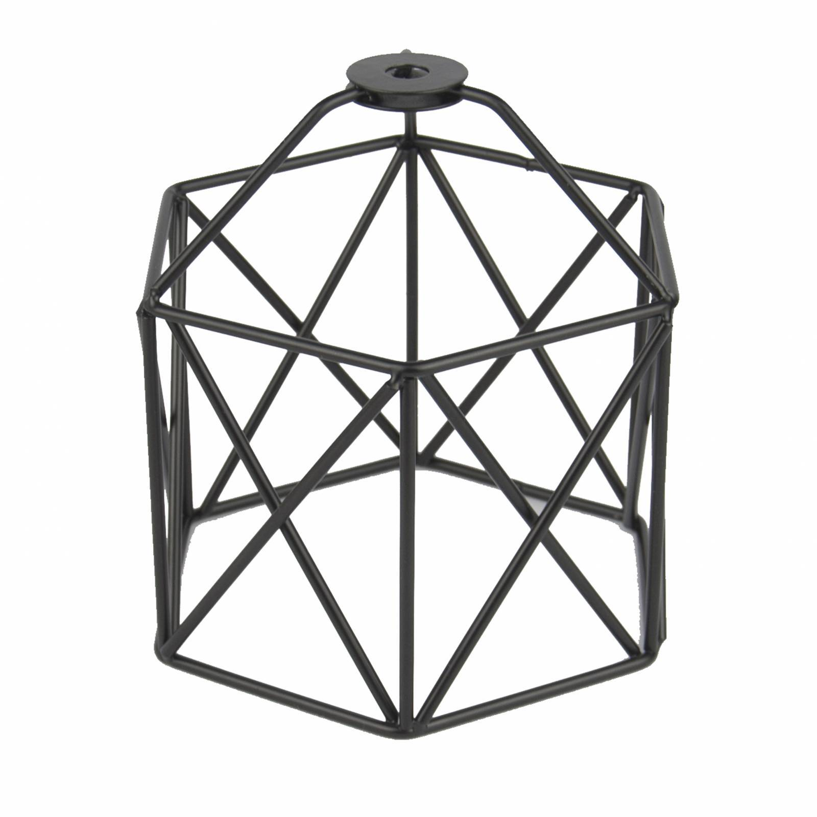 Lustre Pendente Aramado Design Estilo Industrial Preto - LCGELETRO
