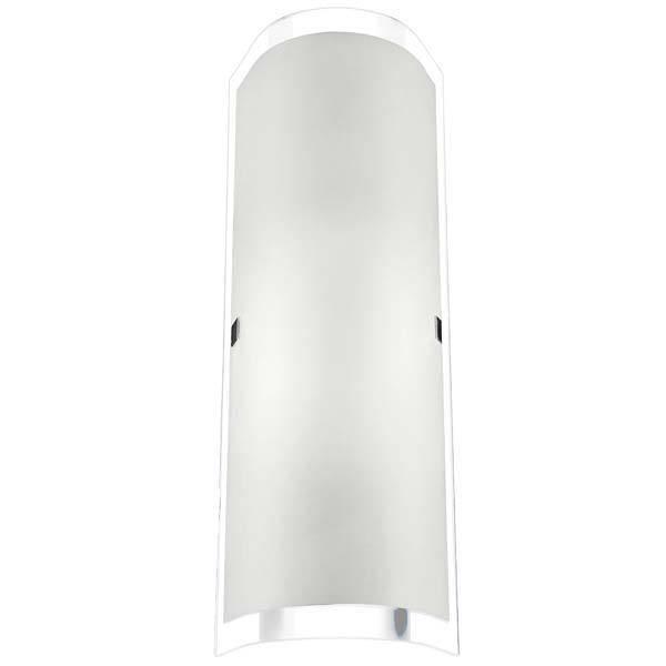 Arandela Quebec 12x33cm Borda Cristal 2 lâmpadas E27 Llum - LCGELETRO