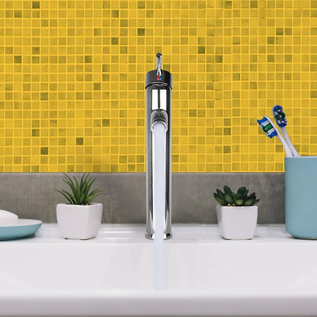 Torneira Para Banheiro De Mesa Bica Alta Monocomando C/ Mist - LCGELETRO