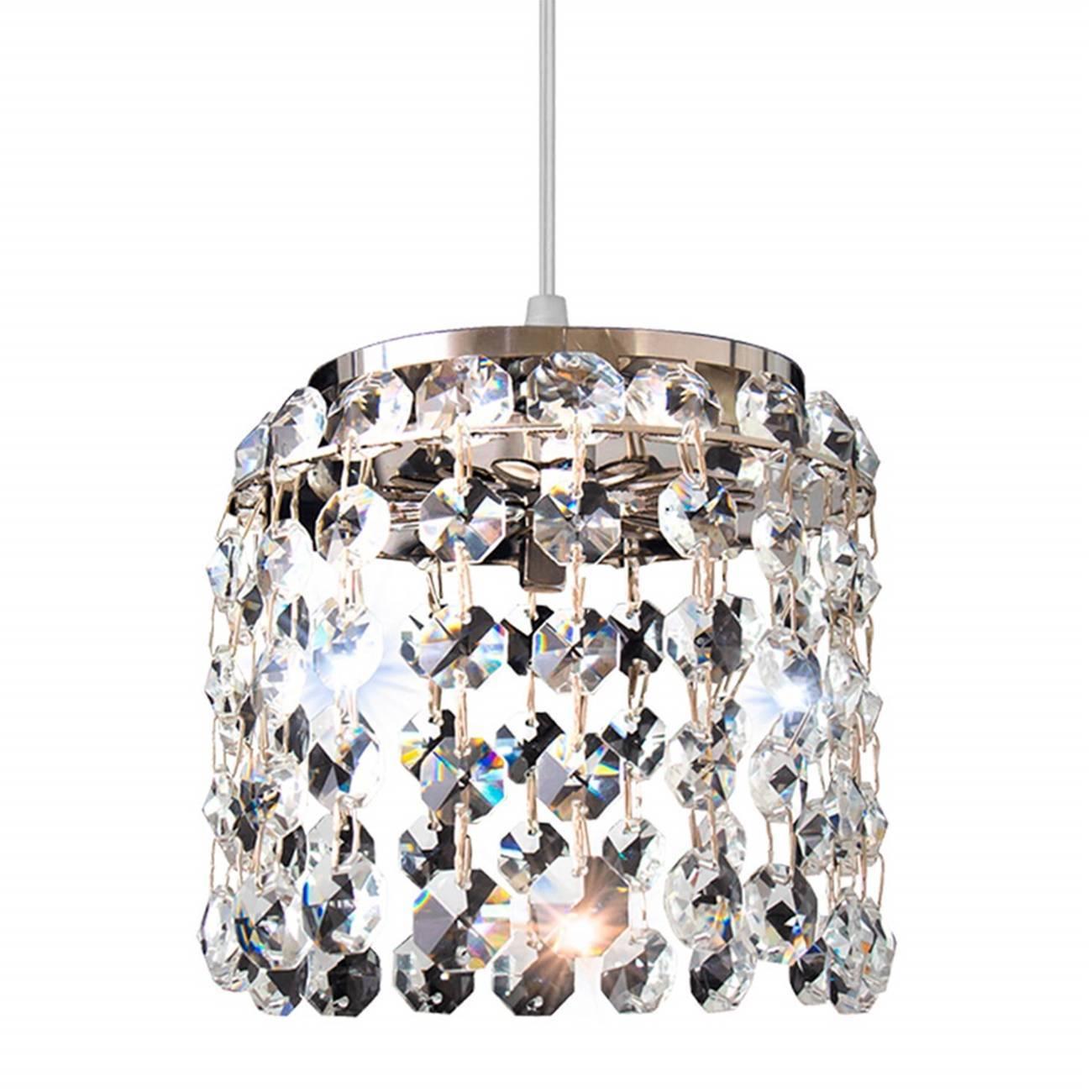 Pendente Cristal Milano 12x10,5cm 1 lâmpada G9 Llum - LCGELETRO