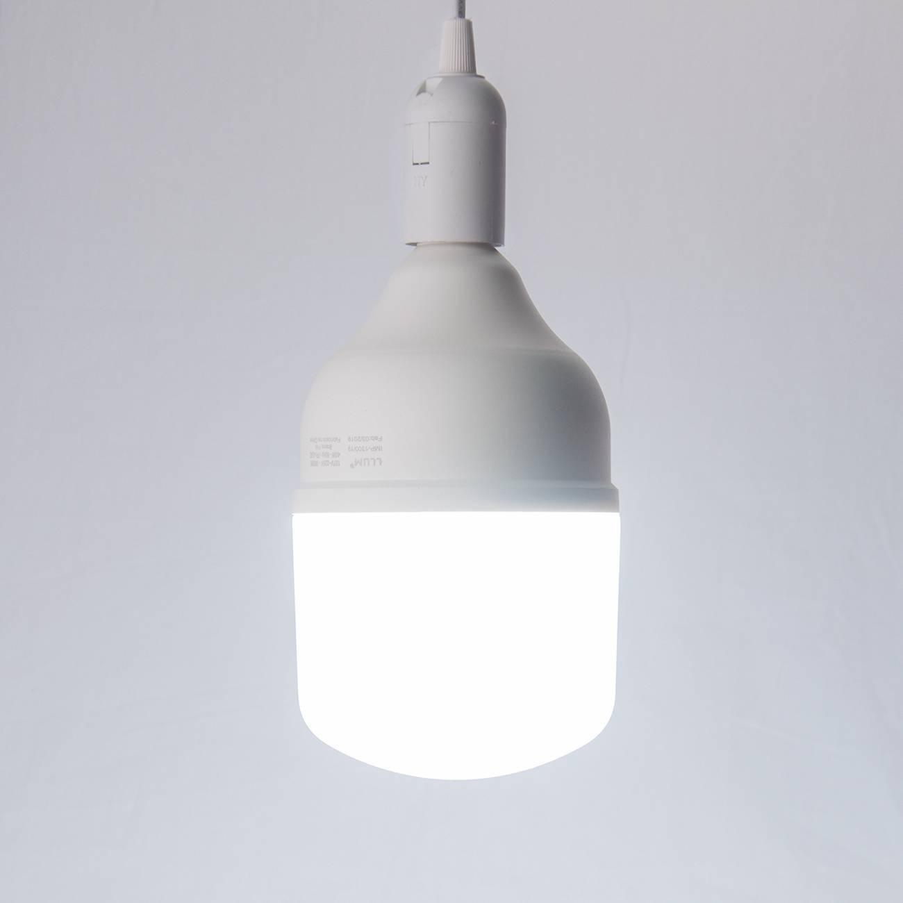 Lâmpada Led Bulbo High Llum 40w Luz Branca 6500k Bivolt - LCGELETRO