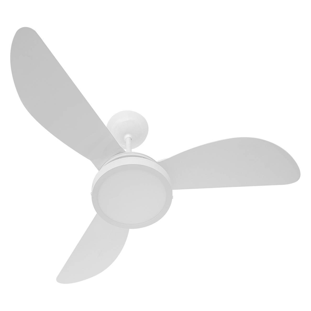 Ventilador De Teto Fenix Branco 3 Pás Led 18w Ponente - LCGELETRO