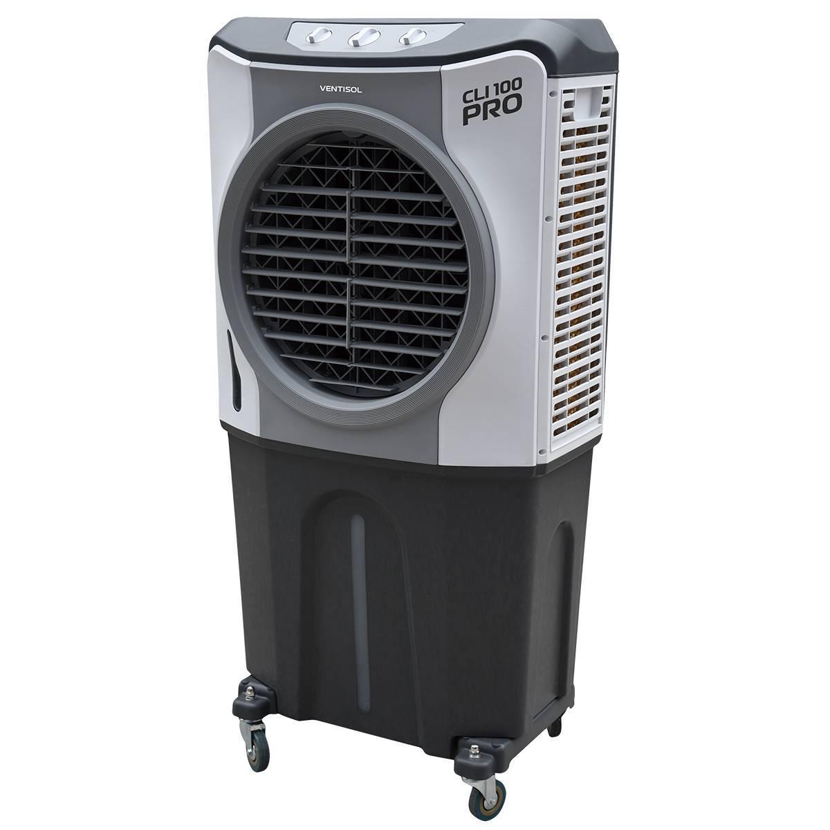 Climatizador Industrial Evaporativo De Ambientes Portátil 10 - LCGELETRO