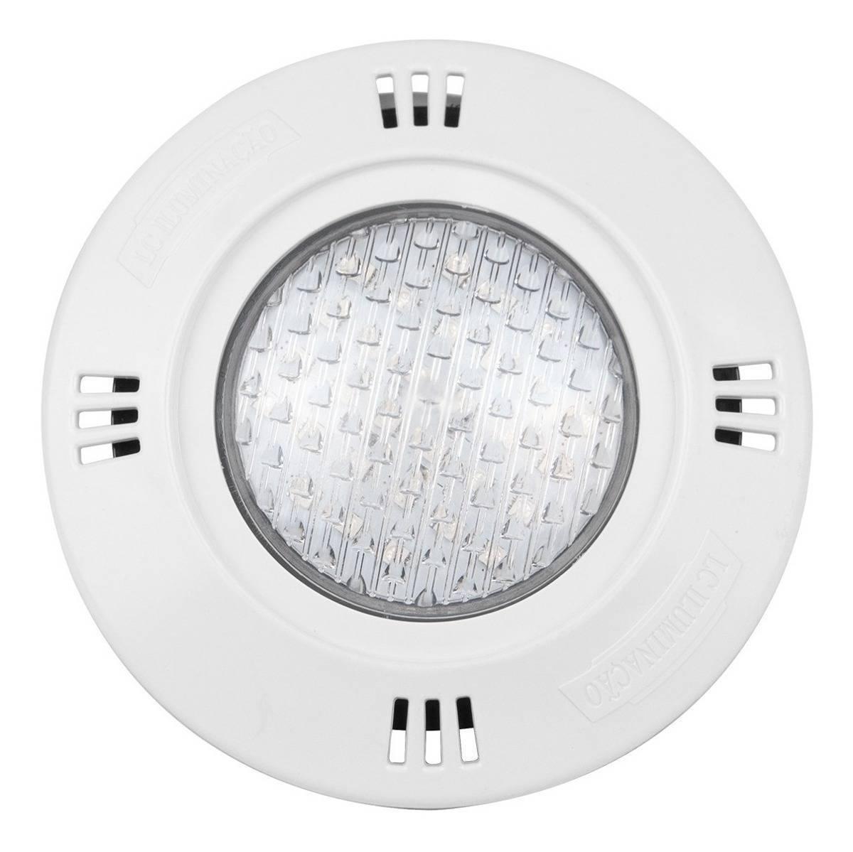 Luminária De Piscina Led 18w Rgb 16 Cores Blindado Colorido - LCGELETRO
