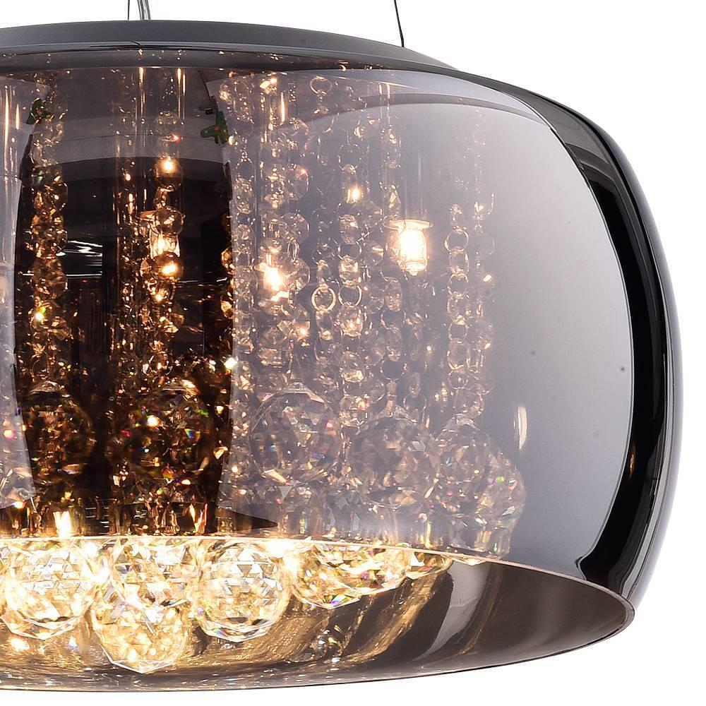 Pendente Plafon Soho G9 20cmx50cm Bella Iluminação Cromado/T - LCGELETRO