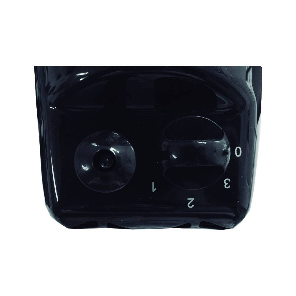 Ventilador De Mesa Turbo Eco 30cm Preto 6 Pás Ventisol - LCGELETRO