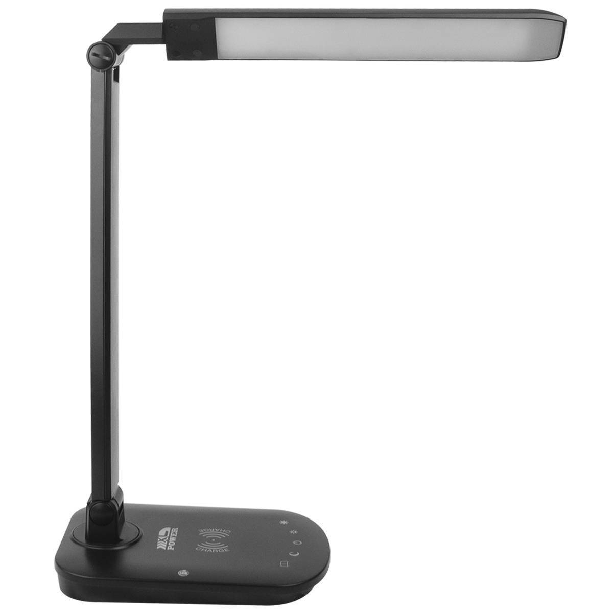 Luminária E Carregador Por Indução De Mesa Led 8w - LCGELETRO