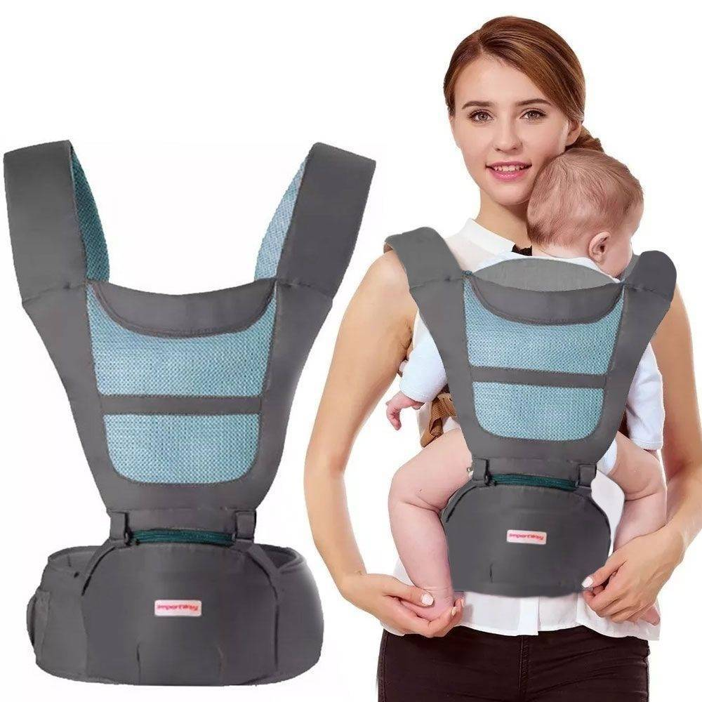 Canguru Para Bebê 6 Posições Ergonômico Conforto Carregador - LCGELETRO