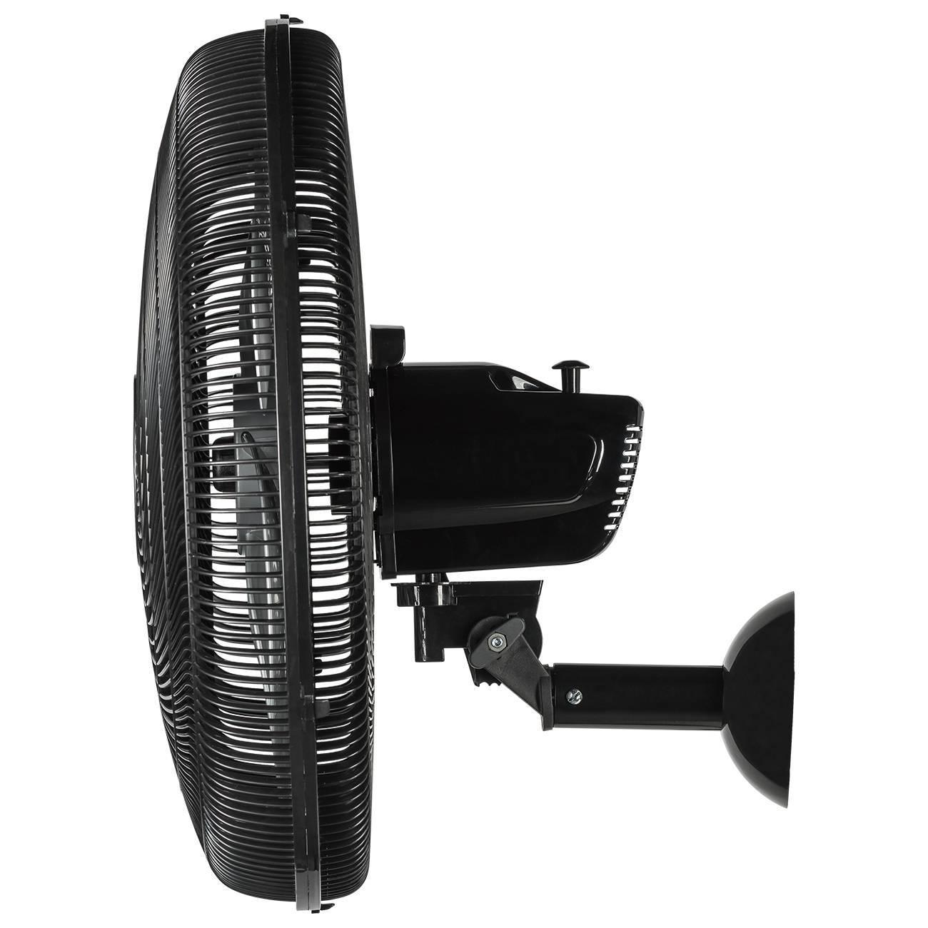 Ventilador De Parede Ponente Preto Four 50cm 4 Pás Controle  - LCGELETRO