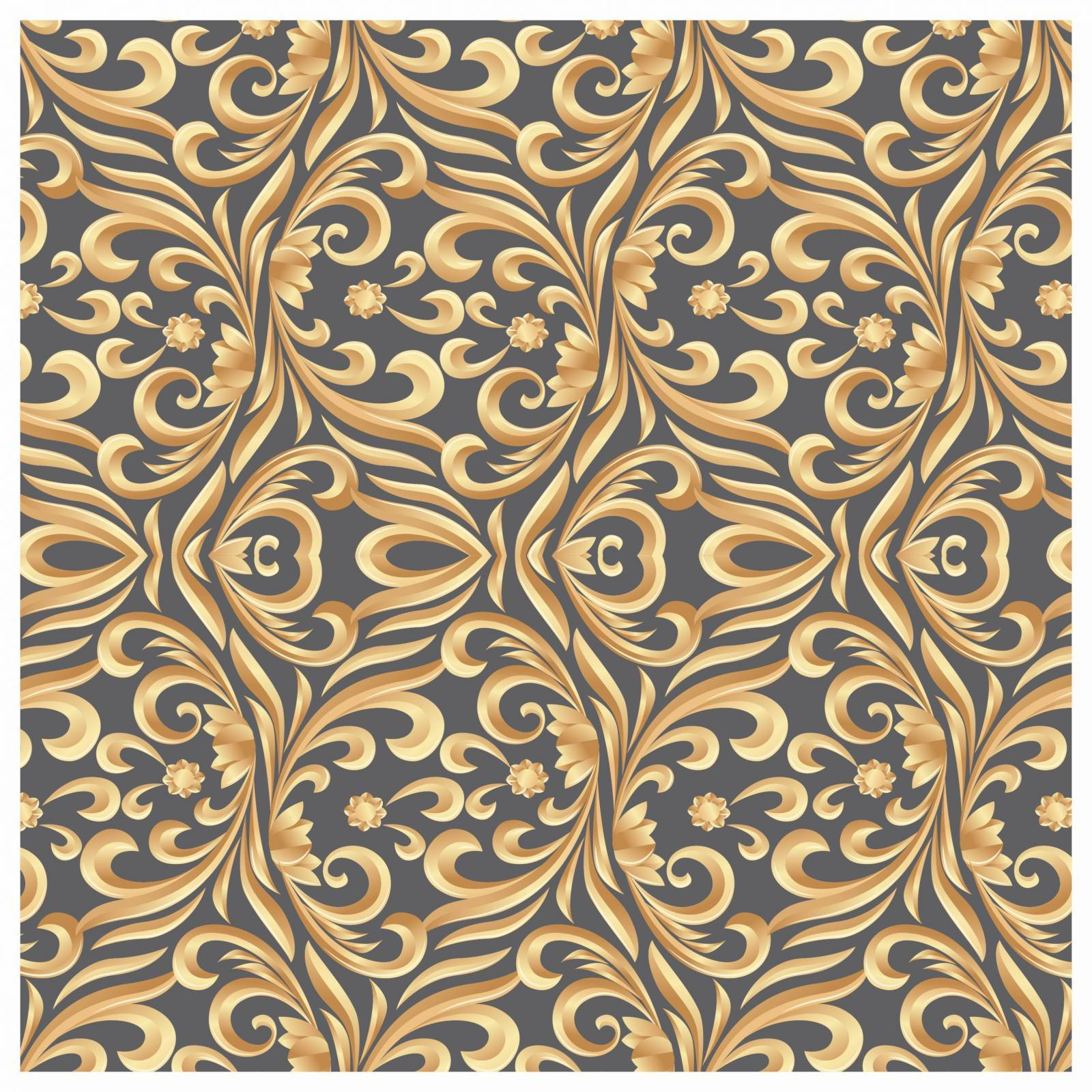 Papel De Parede Adesivo Arabesco Floral 300x52cm - LCGELETRO