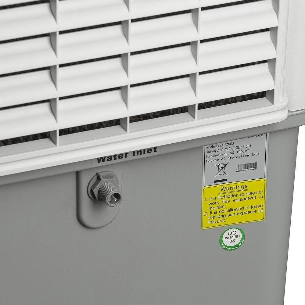 Climatizador de Ar Portátil Sixxis SX080A 120 Litros Residen - LCGELETRO