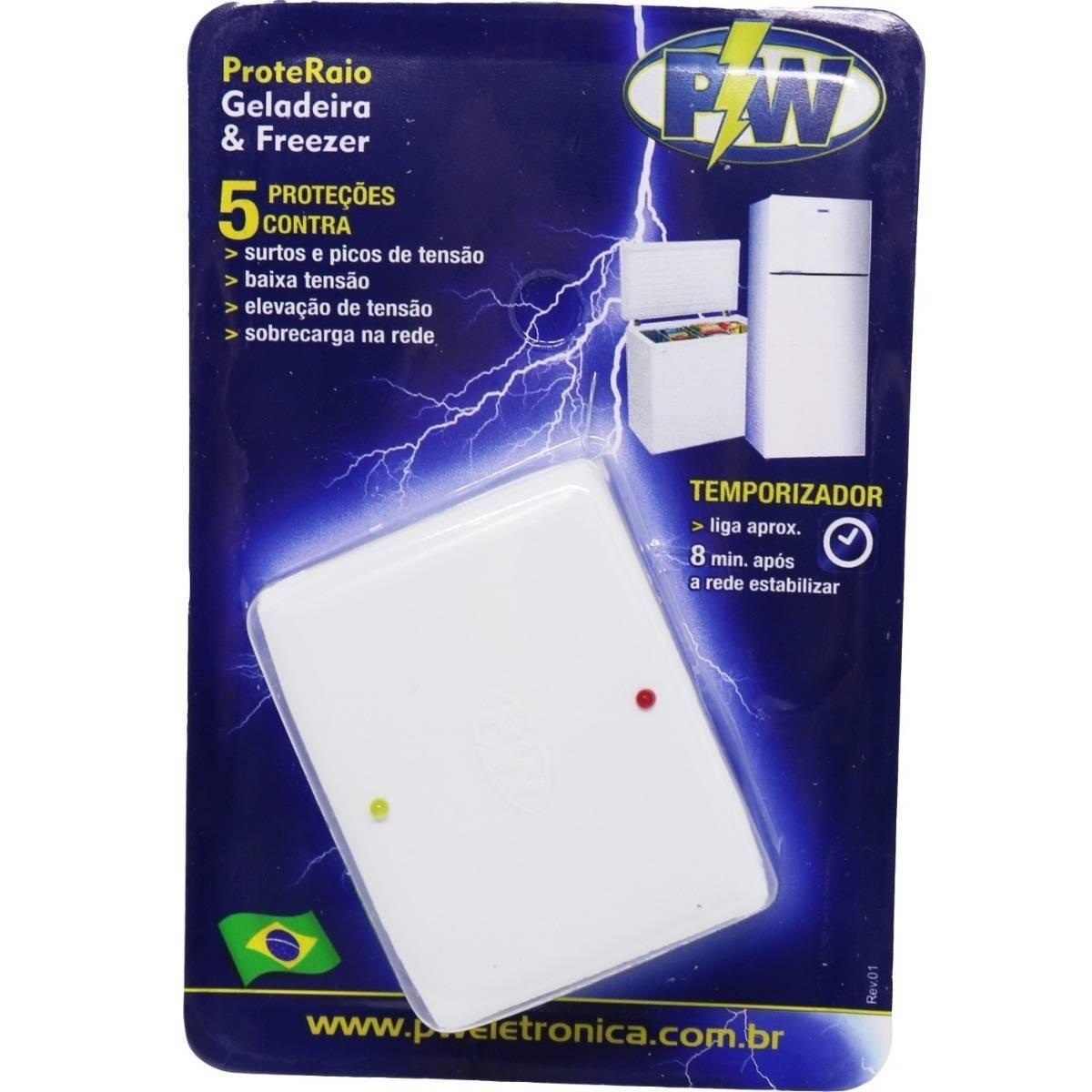 Protetor Contra Queda De Energia Pw Para Freezer E Geladeira - LCGELETRO