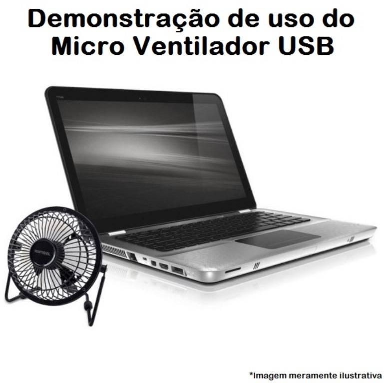 Ventilador Mini De Mesa USB - LCGELETRO