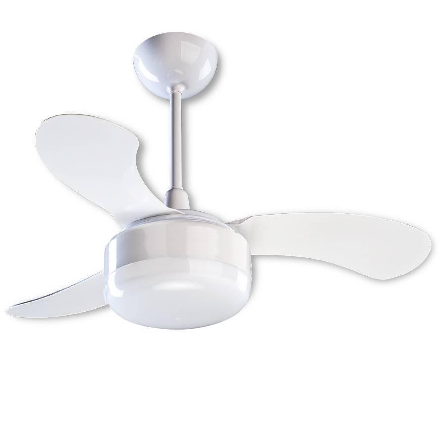 Ventilador De Teto Petit Branco Pequenos Ambientes - LCGELETRO