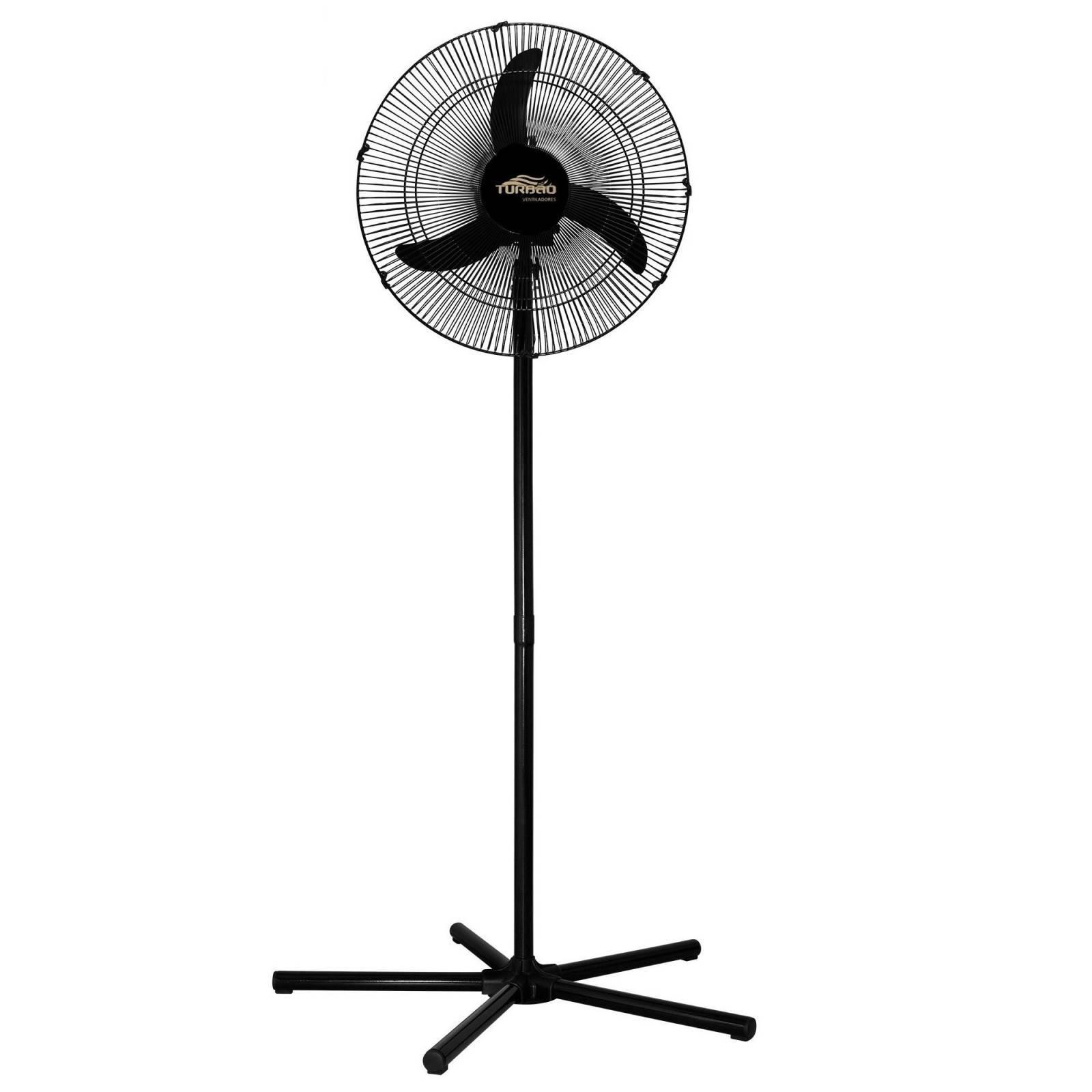 Ventilador de Coluna Oscilante 50cm Preto Turbão 130W Bivolt - LCGELETRO