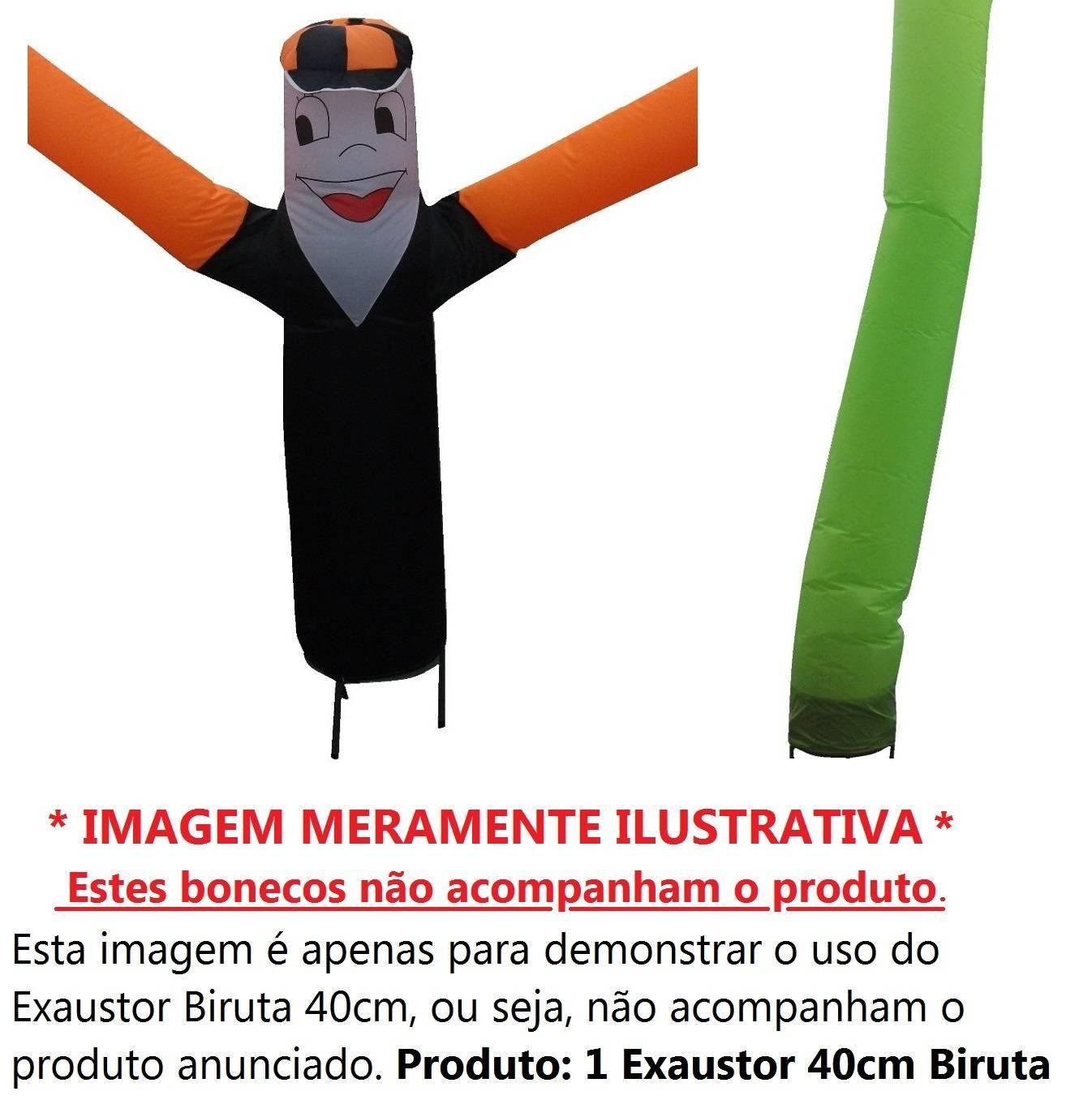 Exaustor 40cm Biruta Turbão Bivolt Alta Vazão - LCGELETRO