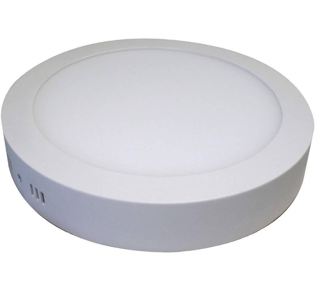 Luminária Painel Led Plafon De Sobrepor Redondo 18w Branco F - LCGELETRO