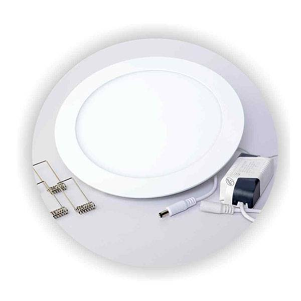 Luminária Plafon Led Embutir Redondo Ultra Slim 25w - LCGELETRO