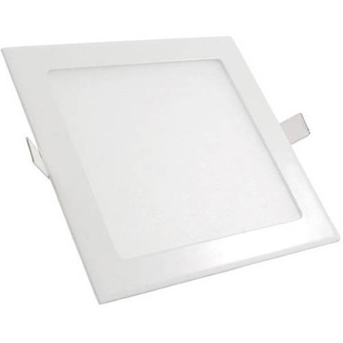 Luminária Plafon Led Embutir Quadrado Ultra Slim 12w - LCGELETRO