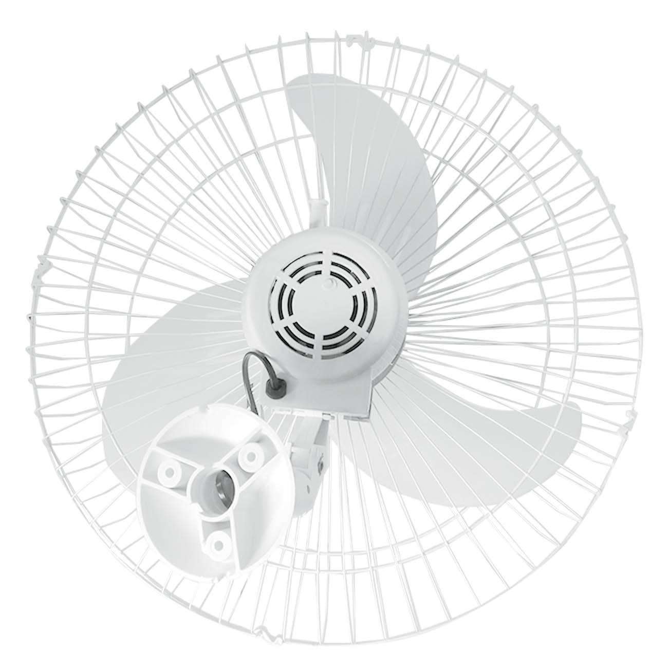 Ventilador de Parede Oscilante 60cm Branco Turbão 200W Bivo - LCGELETRO
