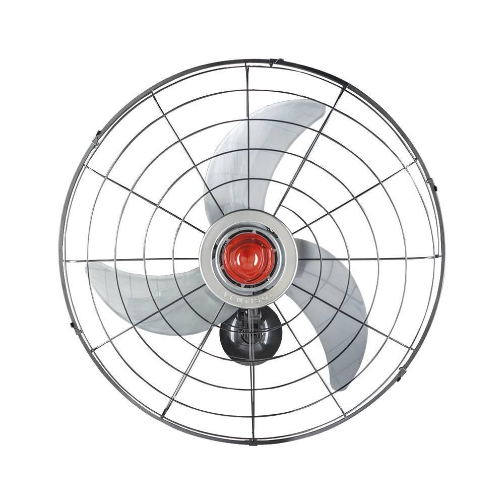 Ventilador de Parede POWER 70cm BIVOLT 230W Ventisol - LCGELETRO