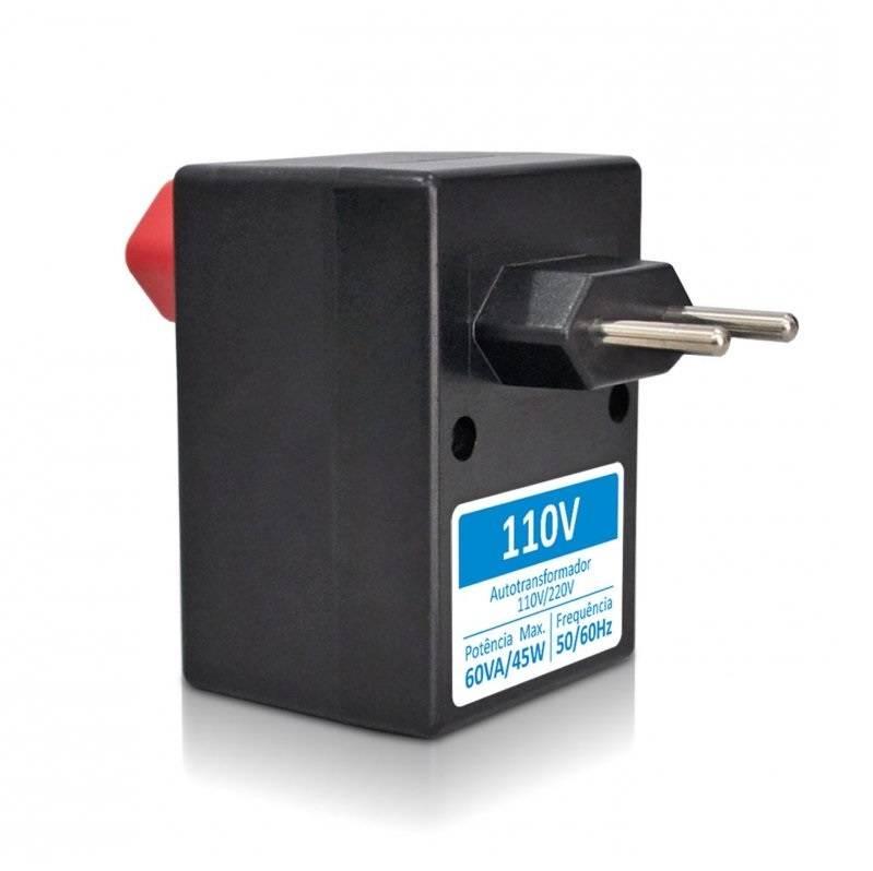 Auto Transformador 60va Conversor 110/127 Para 220v 45watts - LCGELETRO