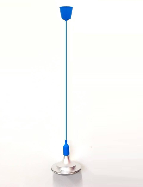 Pendente Luminária Silicone Fio Com Soquete E27 - LCGELETRO
