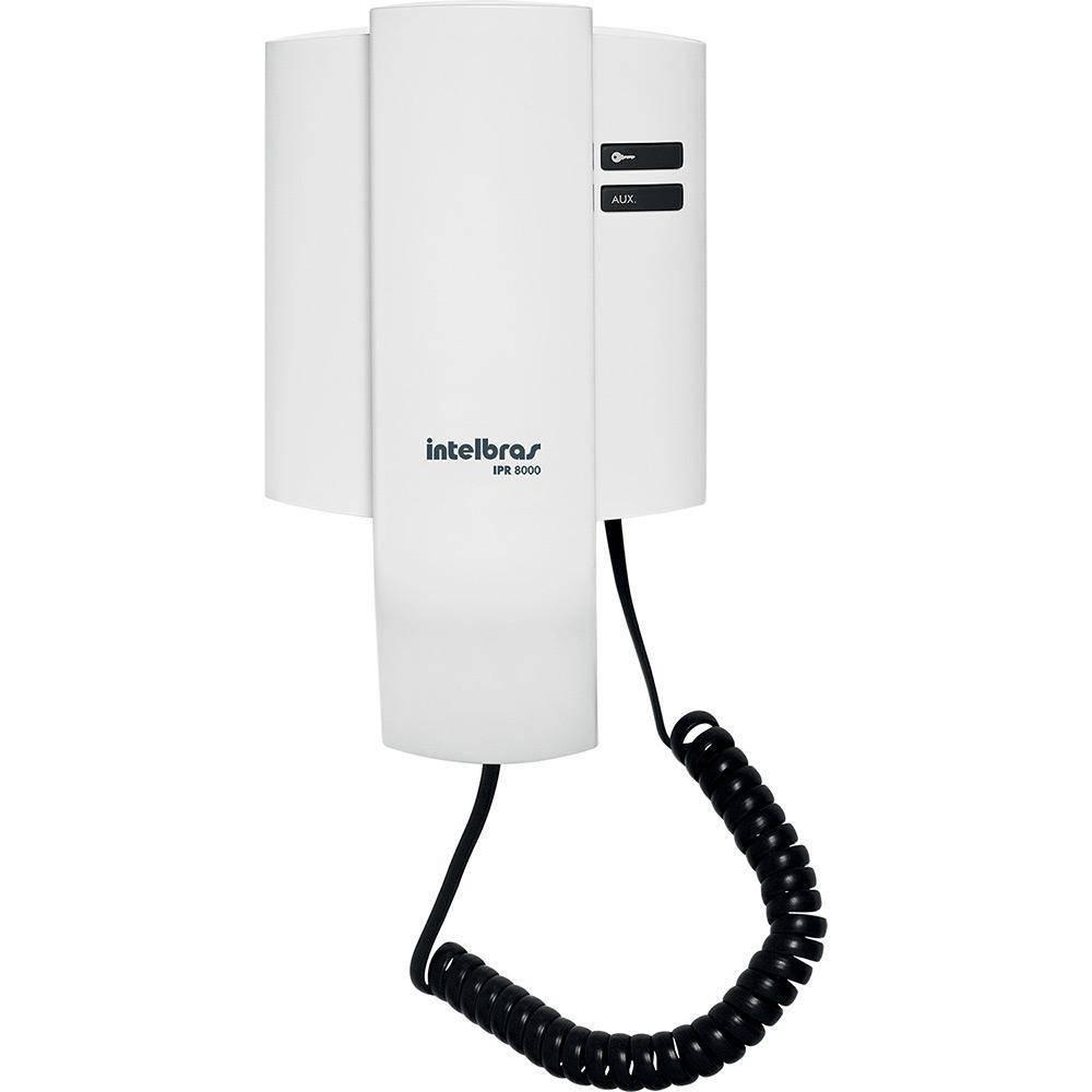 Porteiro Interfone Eletrônico Residencial Intelbras Ipr 8000 - LCGELETRO