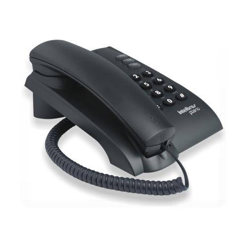Telefone Intelbras Pleno Com Fio E Com Chave - LCGELETRO