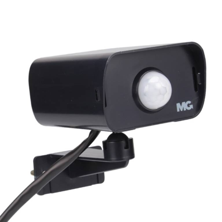 Sensor De Iluminação Uso Externo Tipo Câmera Margirius - LCGELETRO