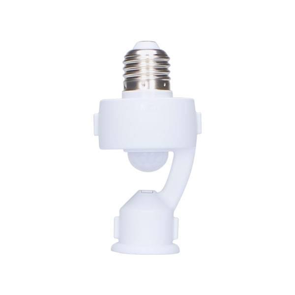 Sensor De Presença E Iluminação Fotocélula Com Soquete E27 M - LCGELETRO