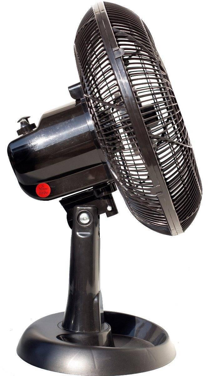 Ventilador De Mesa 30cm 6 Pás Silencio Portátil Econômico - LCGELETRO