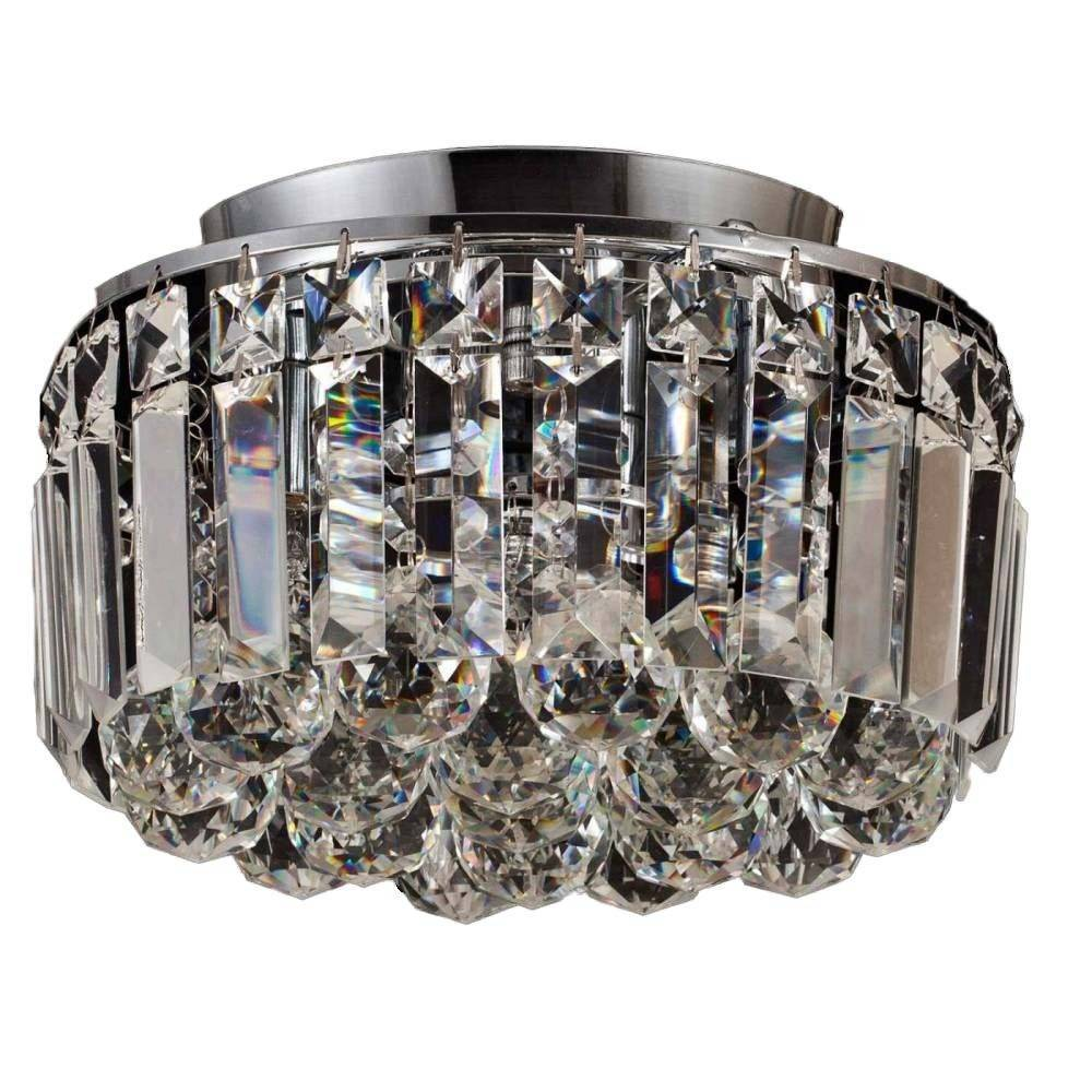 Plafon Kri Cristal Transparente HU1102 25x20,5cm Bella - LCGELETRO