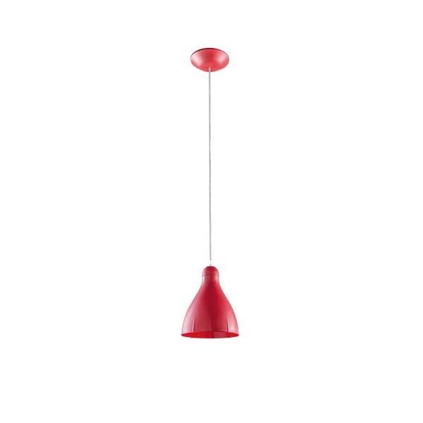Pendente Gota Vermelho Para Lâmpada E27 Cozinha Americana - LCGELETRO