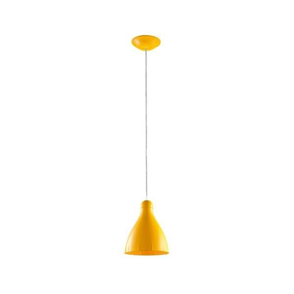 Pendente Gota Amarelo Para Lâmpada E27 Cozinha Americana - LCGELETRO