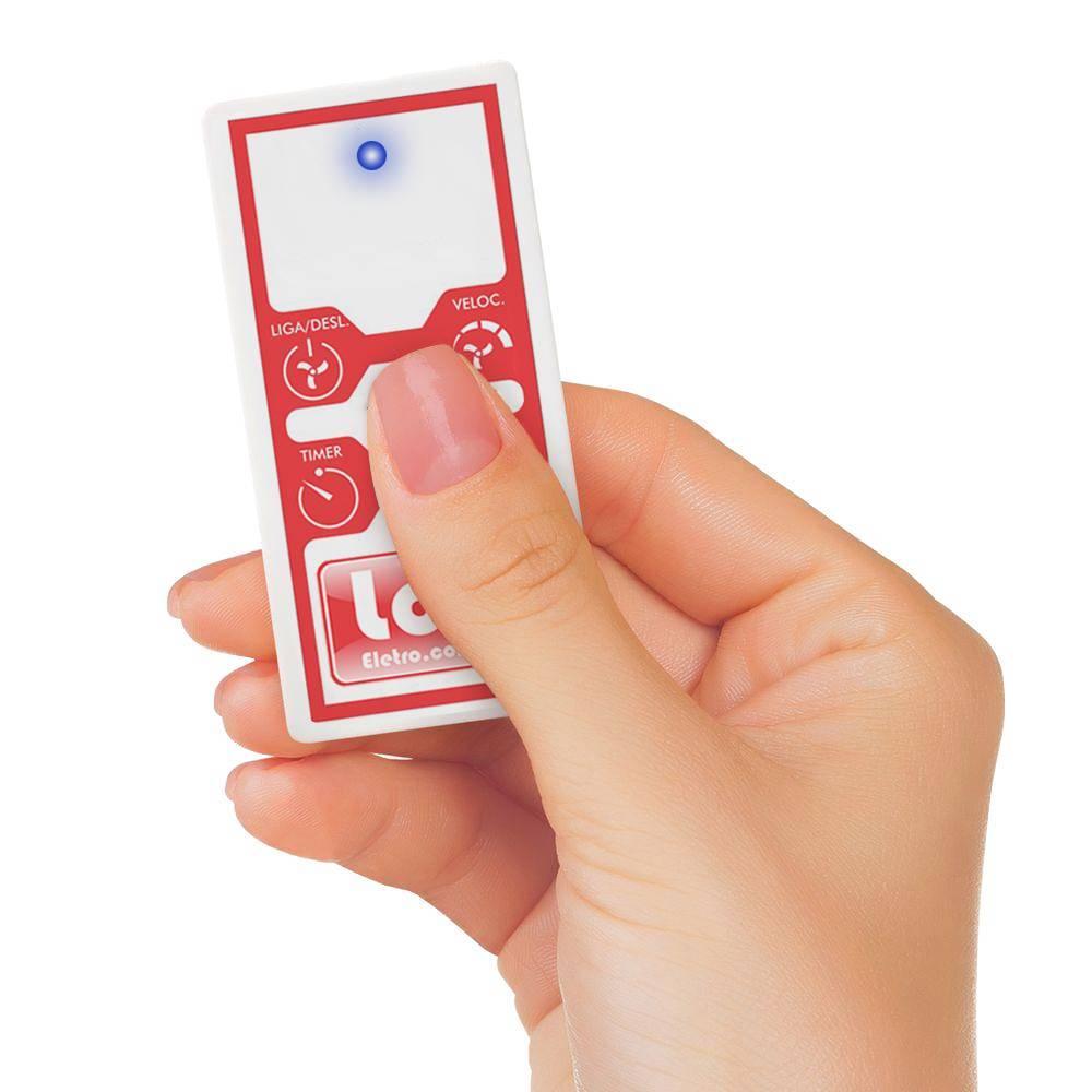 Controle Remoto Para Ventilador De Teto Wireless Lcg Eletro - LCGELETRO