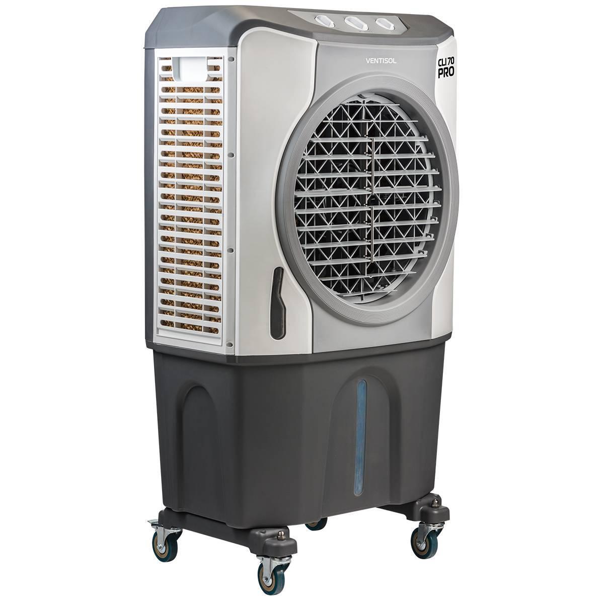 Climatizador Industrial Evaporativo De Ambientes Portátil 70 - LCGELETRO