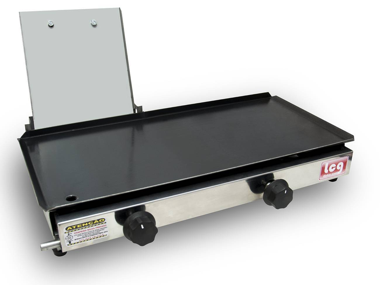 Chapa Para Lanche A Gás Sanduicheira 30x60cm Lcg + Kit Gás - LCGELETRO