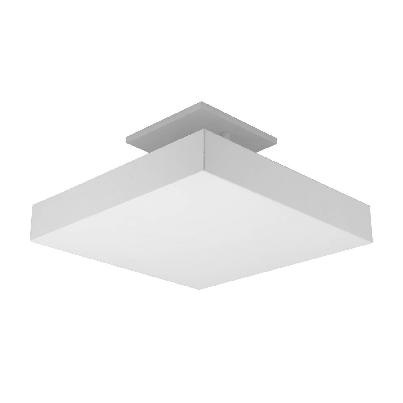 Plafon De Luz Indireta Sobrepor 45x45cm Para 4 Lâmpadas E27  - LCGELETRO