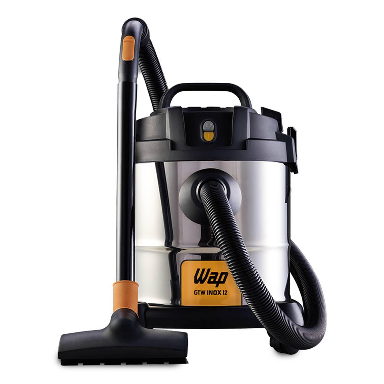 Aspirador De Pó E Água Inox 1400w Gtw 12 litros Wap - LCGELETRO