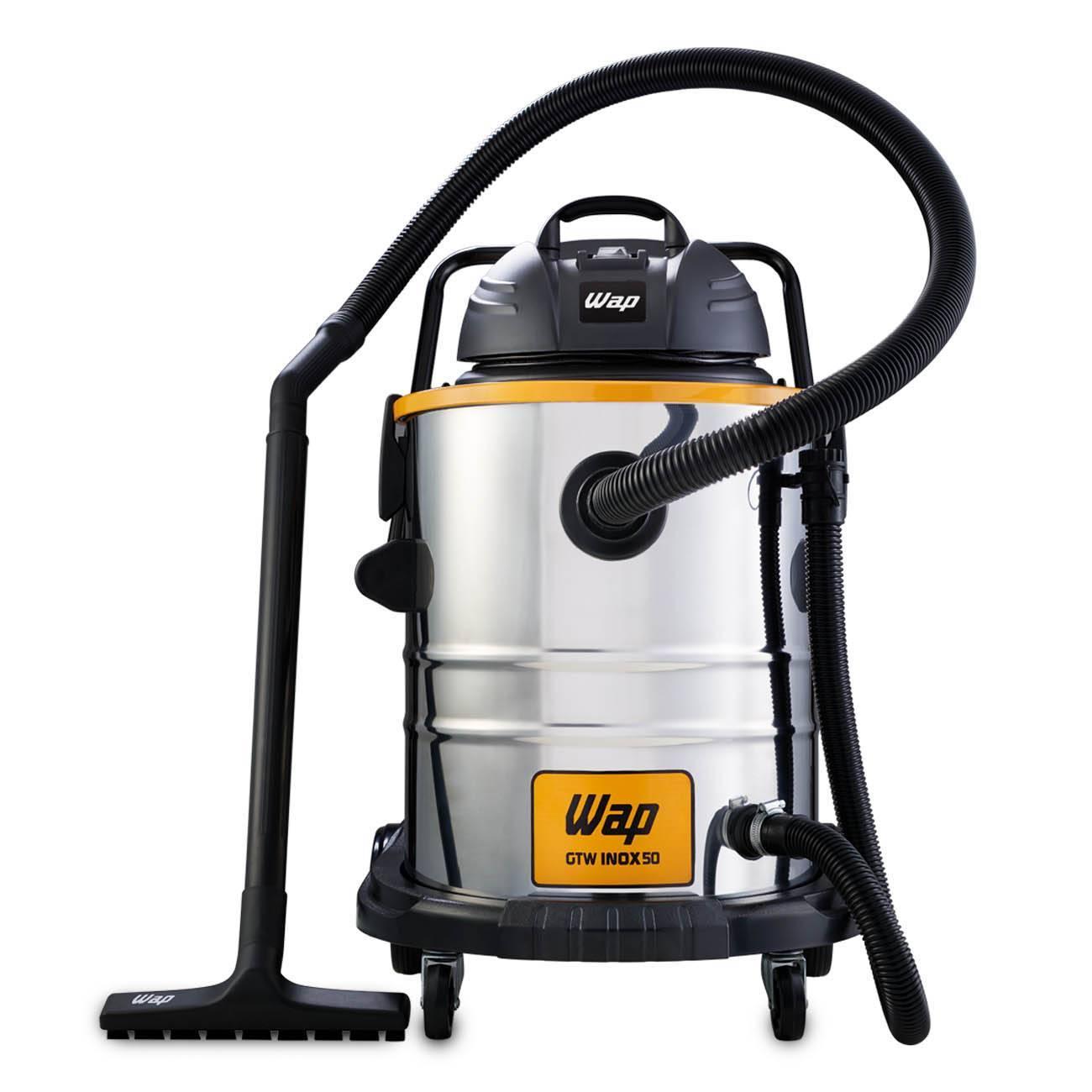 Aspirador De Pó E Água Inox 1600w Gtw 50 litros Wap - LCGELETRO
