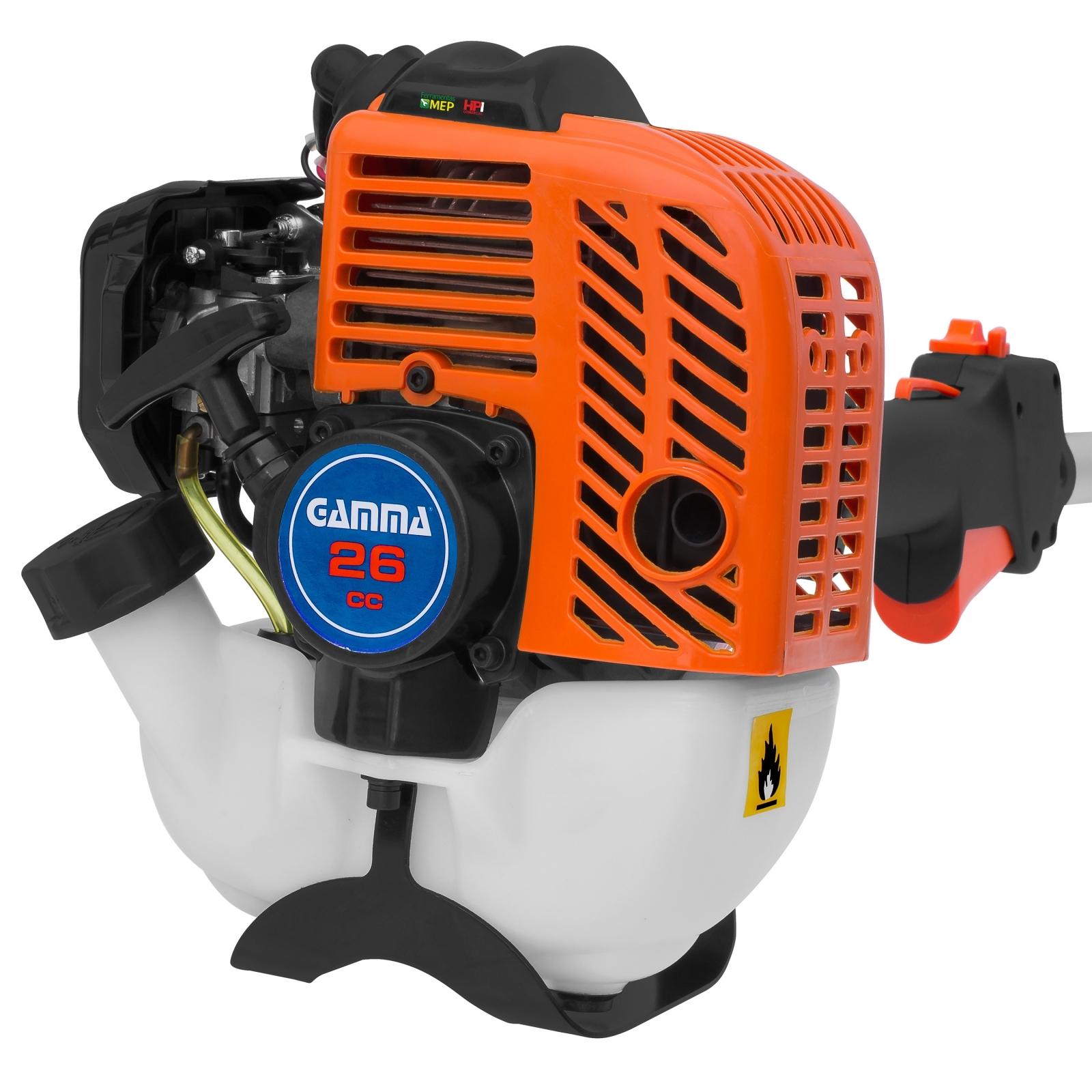 Roçadeira E Aparador de Grama A Gasolina Gamma Modelo G1831BR - Ferramentas MEP